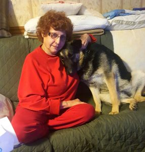 Dutchess & Mom, Linda - who loves her dearly